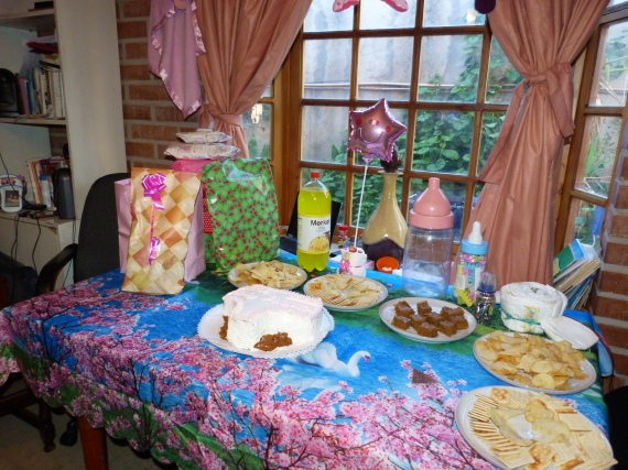 We had a baby shower for Kari!