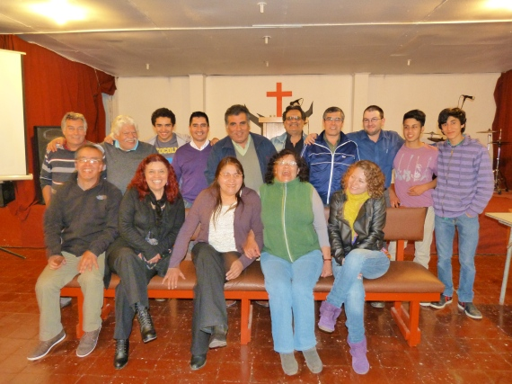 Last evening of classes for the Montijo church!